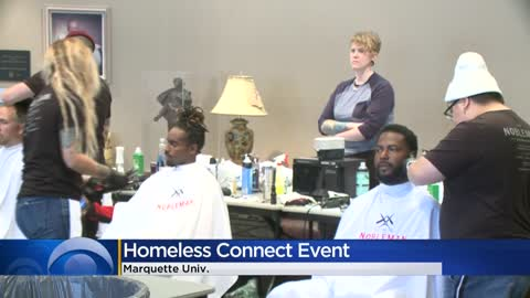 Marquette University hosts 'Project Homeless Connect,' providing...