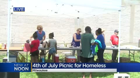 Annual Peaceful Picnic provides July 4 lunch for homeless or at-risk families in Milwaukee