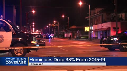 Milwaukee leaders: New crime numbers reveal 33% drop in homicides