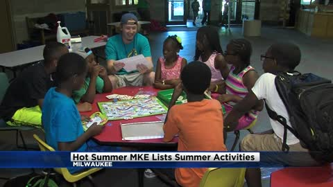HotSummerMKE website lists summer activities for kids