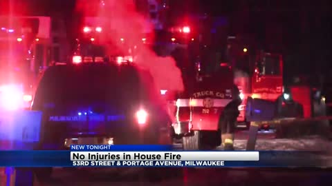 Fire causes over $100,000 in damages to home near 53rd and Portage