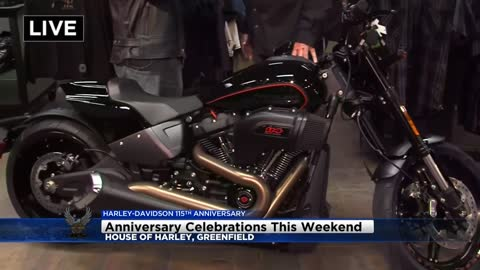 House of Harley is all revved up for an exciting H-D Anniversary weekend