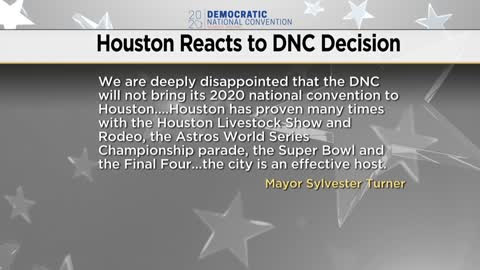 Houston and Miami react after Milwaukee picked for 2020 DNC