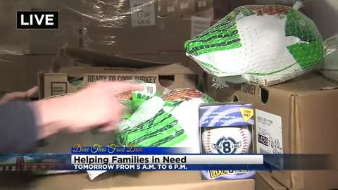 Wednesday's food drive has a personal side to it beside just food collection