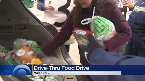 Hunger Task Force Drive-Thru Food Drive collects 1,215 turkeys, 65K pounds of food