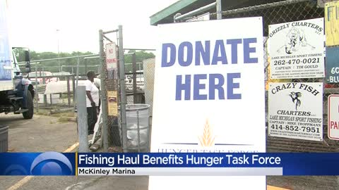 Fishing haul benefits Hunger Task Force