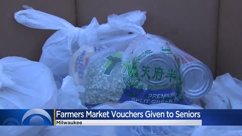 Hunger Task Force gives food, farmers market vouchers to low-income seniors
