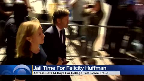 Felicity Huffman gets 14 days in prison in connection with college...
