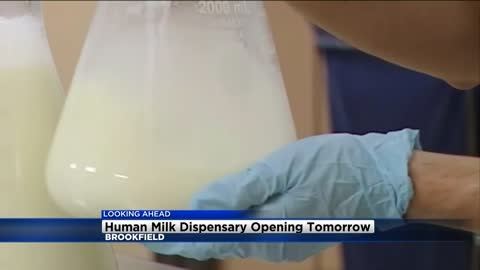 Human milk dispensary now available in Brookfield