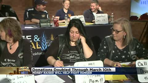CBS 58 Match Madness MKE phone bank raises over $38,000