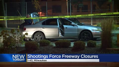 ' Drivers react to Monday's I-43 shooting