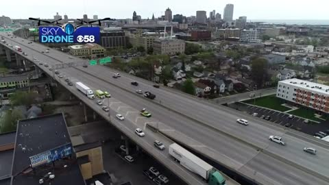 I-43/94 SB reopened at National Avenue