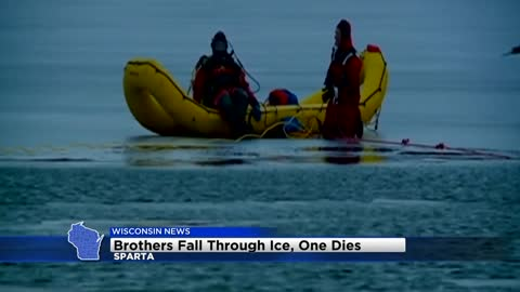 9-year-old dies, brother survives after falling through ice in Sparta