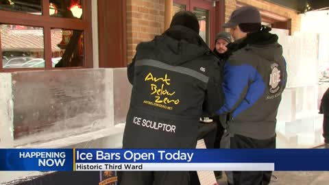 Ice bars return to Milwaukee's Third Ward