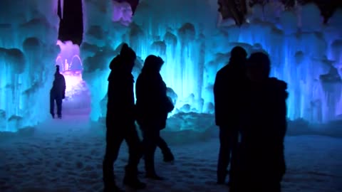 Ice Castles in Lake Geneva open for season