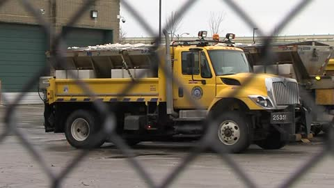 City crews bracing for another night of icy weather