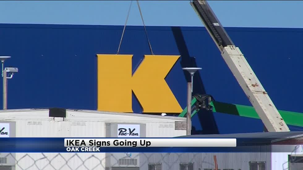 . IKEA one step closer to completion