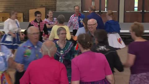 In Step: Square dancing not defined by age