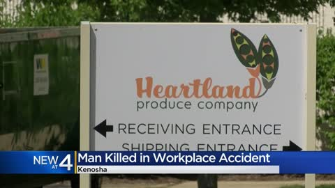 UPDATE: Man dies after industrial accident in Kenosha