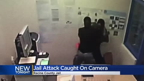 Racine County inmate attack deputies with a pen causing injuries