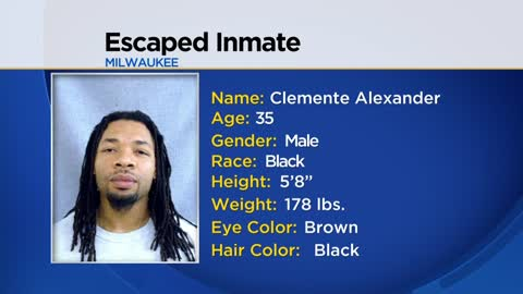 Authorities searching  for escaped inmate