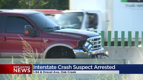 Police arrest driver of SUV that fled crash scene after striking...
