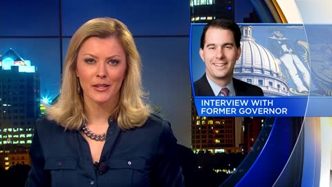 Former Governor Walker talks Foxconn in PBS interview