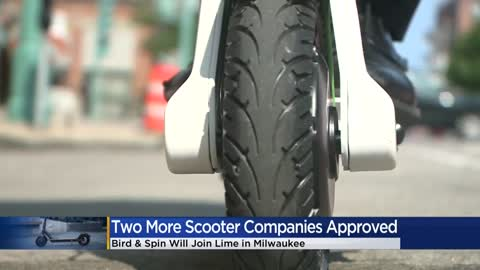 'A little competition:' Milwaukee DPW approves two scooter companies to be a part of pilot study