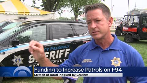 Racine County Sheriff's Office approved for grant money to increase patrols on I-94