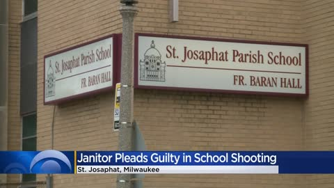 Former janitor whose gun went off, grazed student pleads guilty