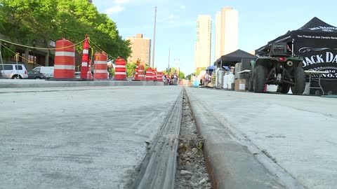 Construction causes obstacles to enjoy opening night of Jazz in the Park