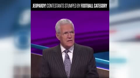 """Jeopardy!"" contestants stumped by all five football questions"
