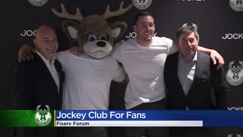 Bucks announce new Jockey Club on mezzanine level of Fiserv Forum