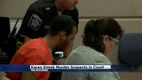 Suspects in murder of Karen Simek in court