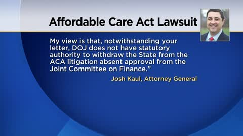 Wisconsin governor's order to leave ACA lawsuit rejected