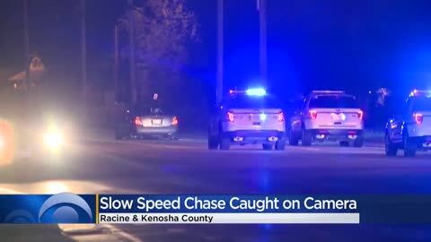 Salem man arrested after he led officers on slow chase, driving...