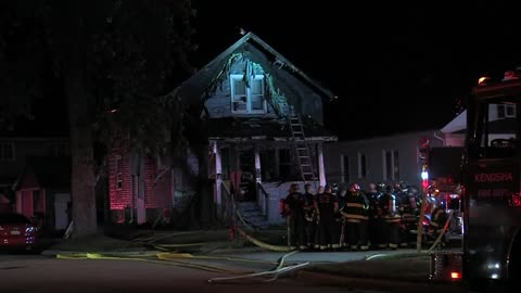Fire breaks out at Kenosha home near Bullamore Park