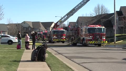 Kenosha firefighters battle three blazes Saturday including one that impacted 11 structures
