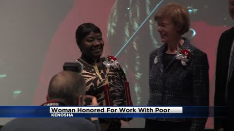 Kenosha woman honored with MLK Humanitarian Award for helping the homeless
