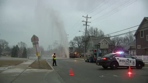 Water main break reported in Kenosha
