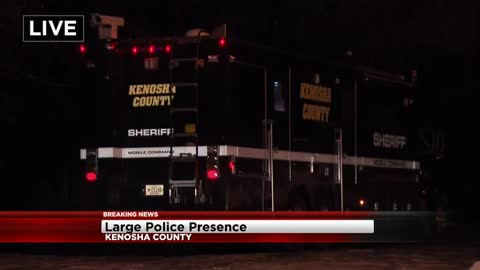 Suspect in custody after domestic violence attack in Kenosha County
