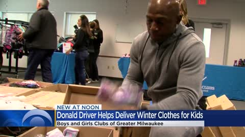 """My goal was to always give back:"" Kohls, Donald Driver donate..."