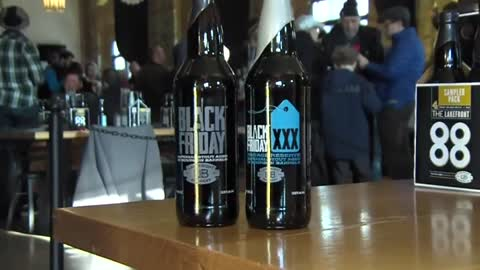 """It's a tradition:"" Lakefront Brewery holds Black Friday event, attracts thousands"
