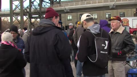 Hundreds line up for Black Friday specialty beers at Lakefront Brewery