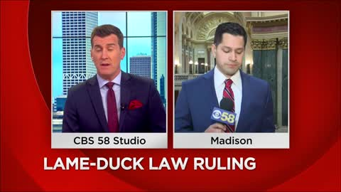 Wisconsin appeals court restores laws from lame-duck session