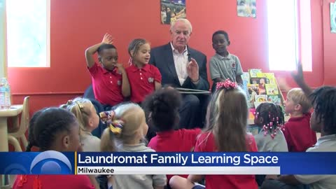 Riverworks Coin Laundry unveils new family learning space