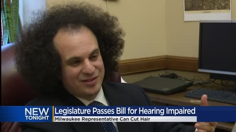 Bill to help deaf in Wisconsin passes State Legislature, lawmaker to finally cut hair