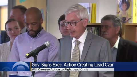 "Governor Evers creates ""lead czar"" position to combat ""crisis"""
