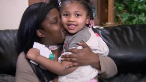 """ 5-year-old Milwaukee girl suffering from lead poisoning"