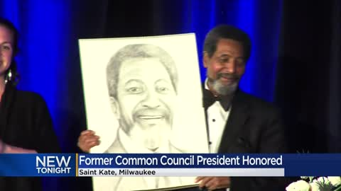 Former Milwaukee Common Council president honored with Don Sykes Legacy Award